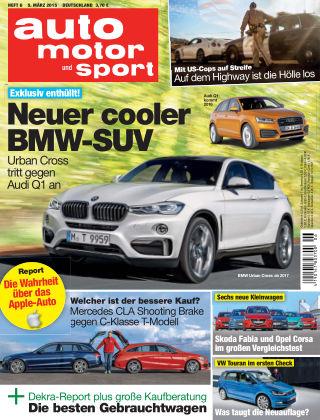 auto motor und sport 06/2015