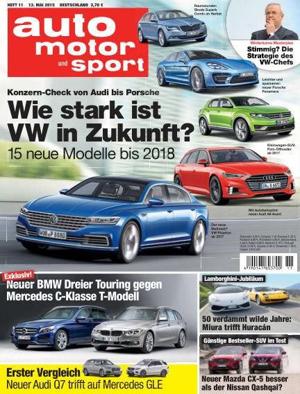 auto motor und sport May 13, 2015 00:00
