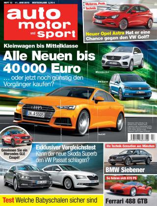 auto motor und sport 13/2015