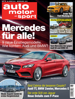 auto motor und sport 18/2015