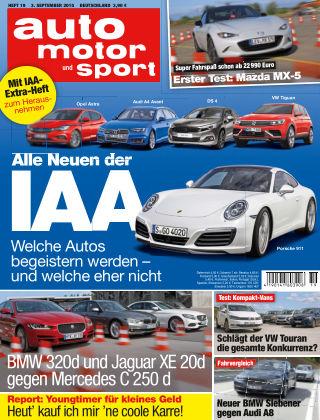 auto motor und sport 19/2015