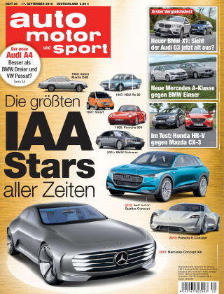 auto motor und sport 20/2015