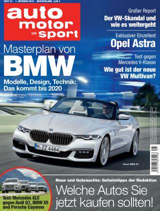 auto motor und sport 21/2015