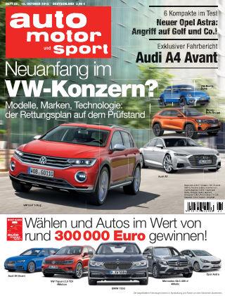 auto motor und sport 22/2015