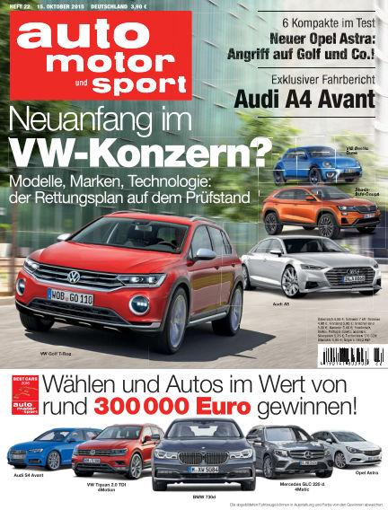 auto motor und sport October 15, 2015 00:00