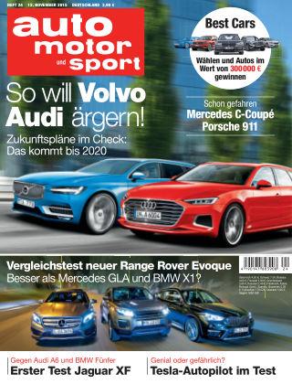 auto motor und sport 24/2015