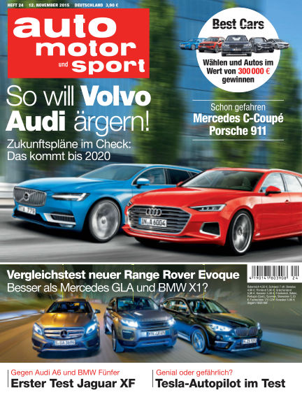 auto motor und sport November 12, 2015 00:00