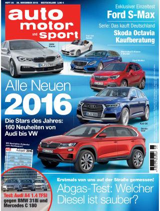 auto motor und sport 25-2015