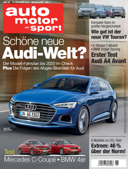 auto motor und sport December 10, 2015 00:00