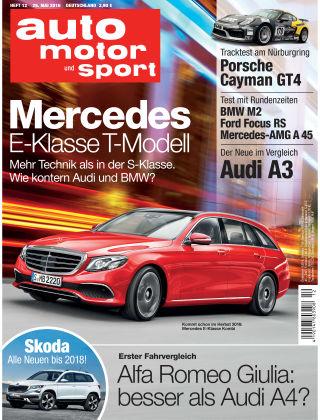 auto motor und sport 12/2016