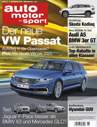 auto motor und sport 19/2016