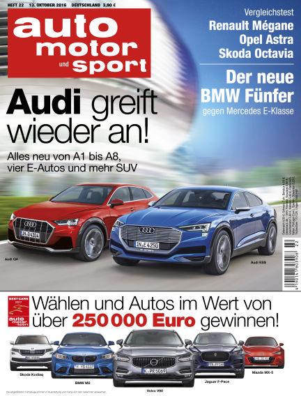 auto motor und sport October 13, 2016 00:00