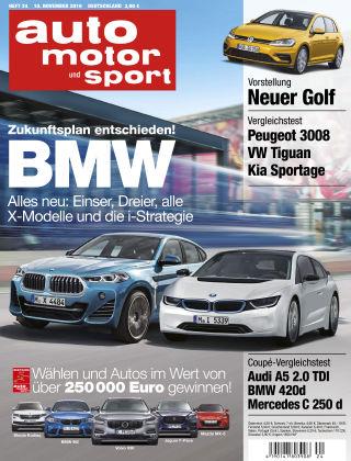 auto motor und sport 24/2016