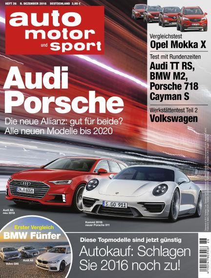 auto motor und sport December 08, 2016 00:00