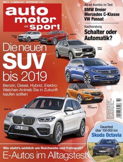 auto motor und sport January 05, 2017 00:00