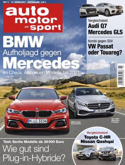 auto motor und sport January 19, 2017 00:00