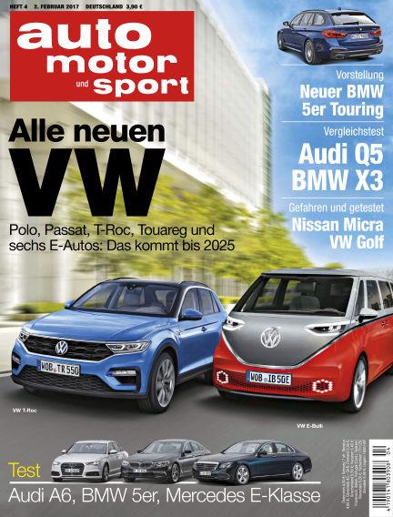 auto motor und sport February 02, 2017 00:00