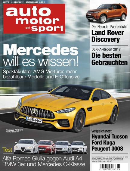 auto motor und sport March 02, 2017 00:00