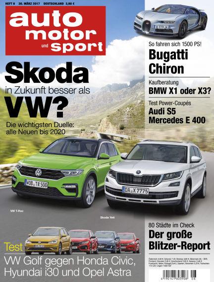 auto motor und sport March 30, 2017 00:00