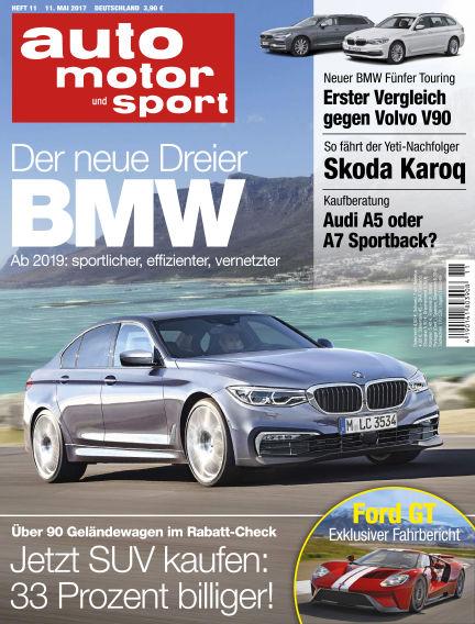 auto motor und sport May 11, 2017 00:00