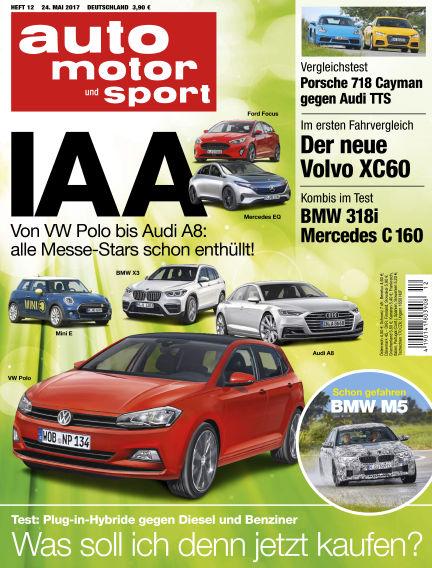 auto motor und sport May 24, 2017 00:00