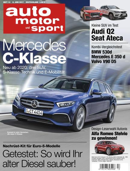auto motor und sport June 08, 2017 00:00