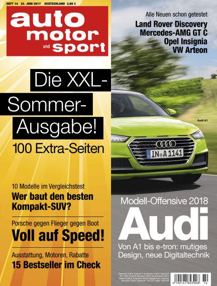 auto motor und sport June 22, 2017 00:00