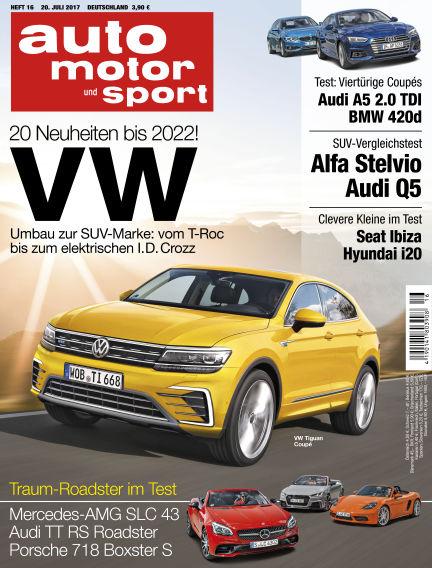 auto motor und sport July 20, 2017 00:00