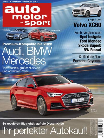 auto motor und sport August 03, 2017 00:00