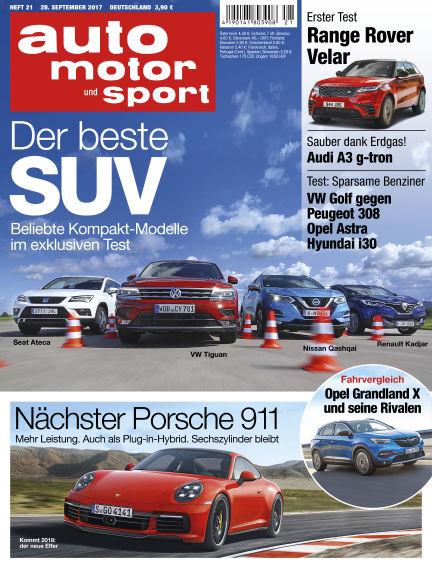 auto motor und sport September 28, 2017 00:00