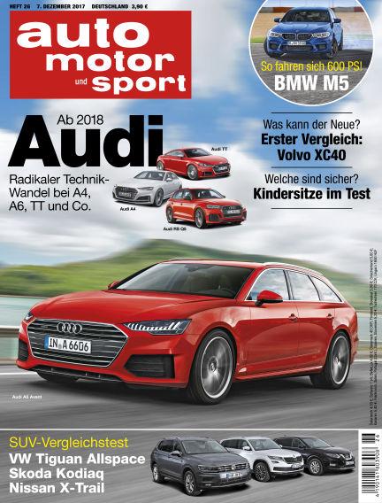 auto motor und sport December 07, 2017 00:00