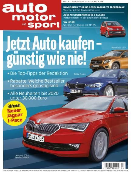 auto motor und sport February 01, 2018 00:00