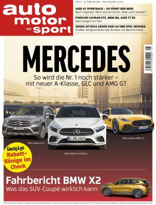 auto motor und sport 05/2018