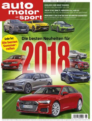 auto motor und sport 06/2018