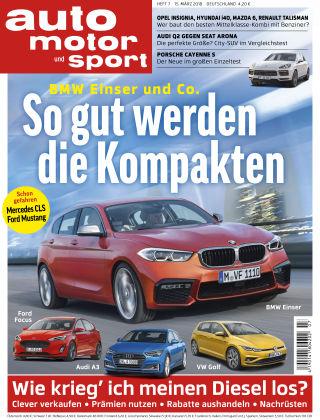 auto motor und sport 07/2018