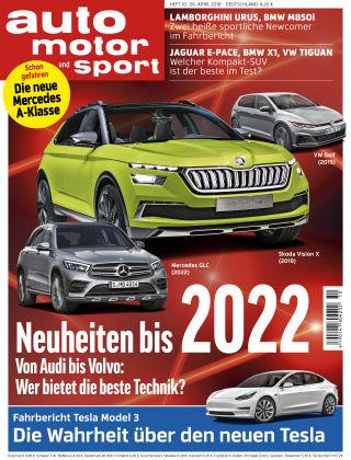 auto motor und sport 10/2018