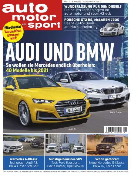 auto motor und sport May 08, 2018 00:00