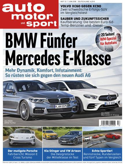 auto motor und sport June 07, 2018 00:00