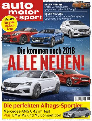 auto motor und sport 19/2018