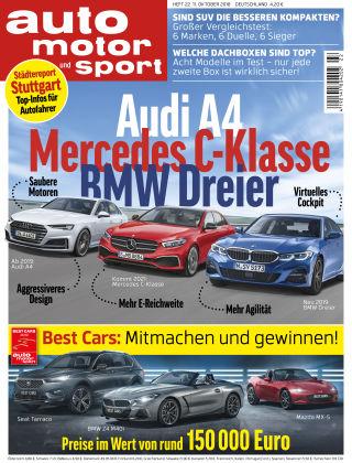 auto motor und sport 22/2018
