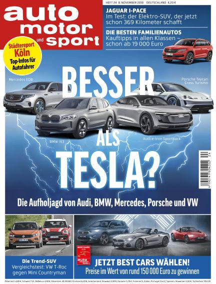 auto motor und sport November 08, 2018 00:00
