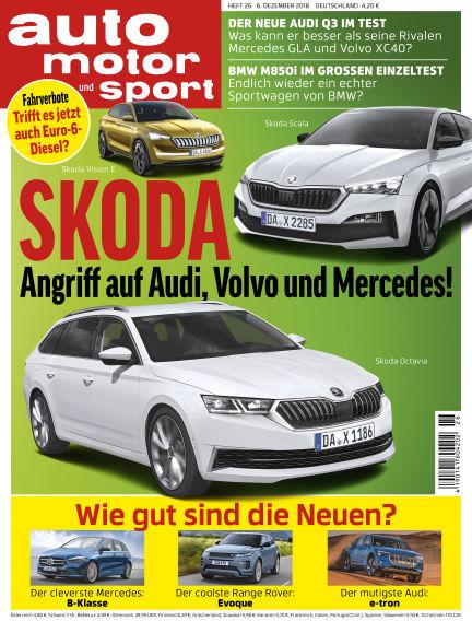 auto motor und sport December 06, 2018 00:00
