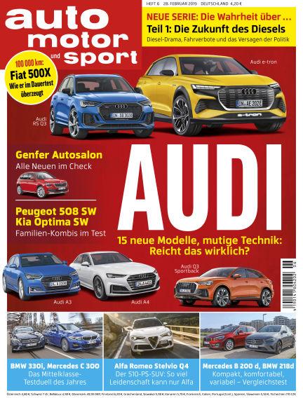 auto motor und sport February 28, 2019 00:00