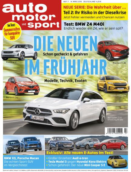 auto motor und sport March 13, 2019 00:00