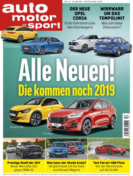 auto motor und sport May 23, 2019 00:00