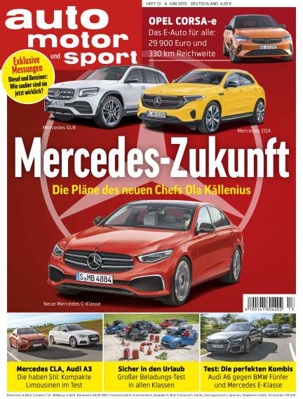 auto motor und sport June 05, 2019 00:00