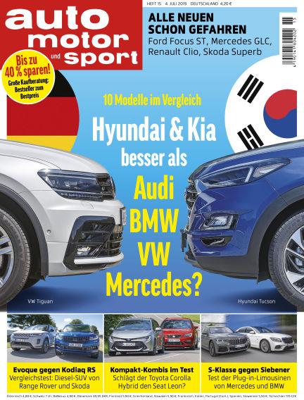 auto motor und sport July 04, 2019 00:00
