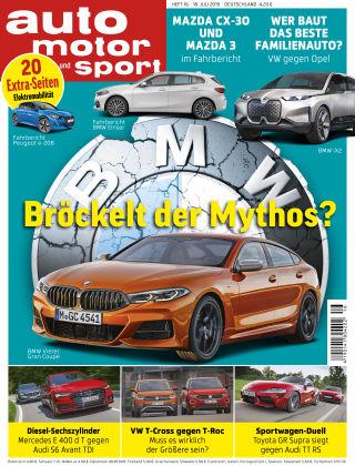 auto motor und sport 16 2019