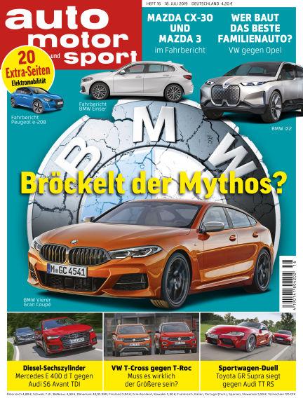auto motor und sport July 17, 2019 00:00