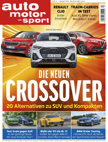 auto motor und sport July 31, 2019 00:00